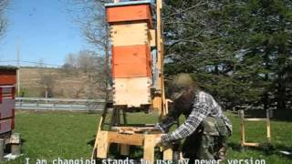 getlinkyoutube.com-Under supering a warre hive