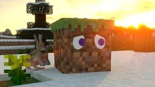 getlinkyoutube.com-Grass Block Life - Minecraft Animation