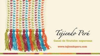 getlinkyoutube.com-Punto cobija o manta para tejer en crochet