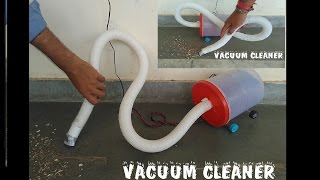 getlinkyoutube.com-How to make vacuum cleaner - at home - sdik rof