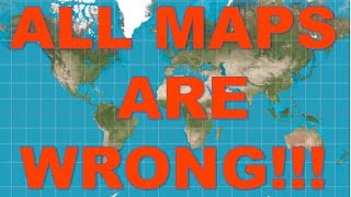 getlinkyoutube.com-Flat Earth - All Other Maps Are WRONG