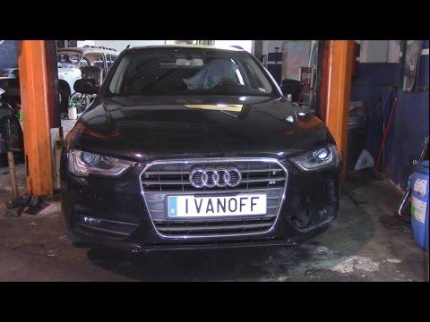 Audi A4 2013  Ремонт и покраска  бампера и крыла