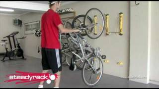 getlinkyoutube.com-wall mounted bike rack