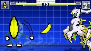 MUGEN Watch Mode Matches / Battles / Fights Of The Dancing Banana