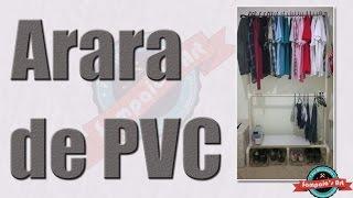 getlinkyoutube.com-Como fazer Arara de PVC