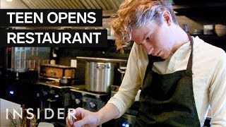 19-Year-Old Chef Opened A NYC Restaurant With A $155 Tasting Menu width=
