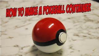 getlinkyoutube.com-How to make a Pokeball container
