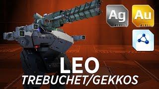 getlinkyoutube.com-Leo Trebuchet/Gekkos - War Robots - Gameplay (Springfield)