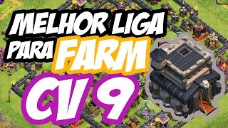 getlinkyoutube.com-MELHOR LIGA DE FARM para CV 9 no Clash of Clans | Centro da Vila 9
