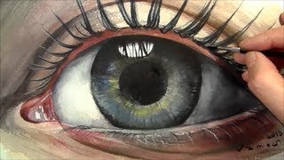 getlinkyoutube.com-How to Paint Eye in Watercolour