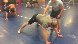 Greco Roman Wrestling with US Army special forces