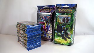getlinkyoutube.com-Unboxing: Pokémon TCG - XY: BREAKpoint Booster Packs and Theme Decks