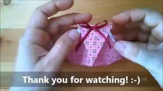getlinkyoutube.com-ORIGAMI Gift packet