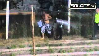 getlinkyoutube.com-Incident na utakmici Željezničar -- Zrinjski