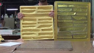 Concrete Mold Making: Veneer Stone Master Mold