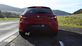 getlinkyoutube.com-Seat Leon 5F 1.8 TFSI DSG mit SKAD Exhaust SX Anlage