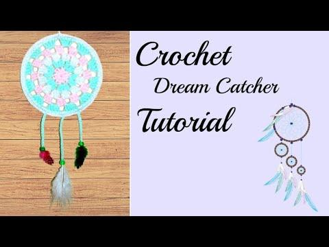 Crochet Dreamcatcher Tutorial
