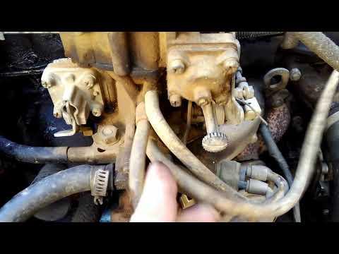 Купил Ниву 1я часть, подготовка к ремонту двигателя, осмотр, запоминаю что как есть.