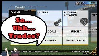 MLB The Show 18 Franchise Episode 3 - A Trade Already?!?!