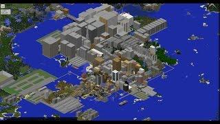getlinkyoutube.com-【Minecraft】大都市を作ってみた 製作期間半年