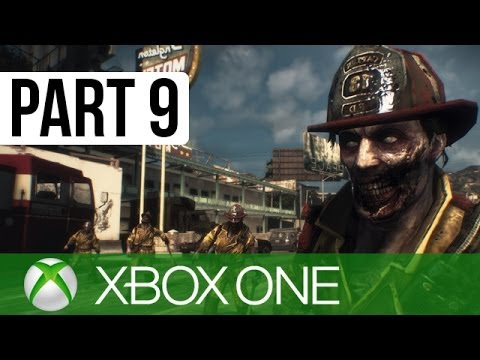 Dead Rising 3 Gameplay Walkthrough Part 9 - Zombie Thrashing!! (XBOX ONE Gameplay 1080p HD)