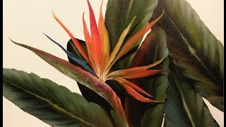 "getlinkyoutube.com-The Beauty of Oil Painting, behind the scenes, Episode 8 "" Tropical Paradise """