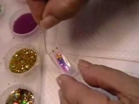Uñas Acrilicas De Acuario / Aquarium Nails