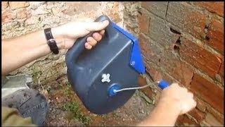 getlinkyoutube.com-Como Impermeabilizar contra umidade utilizando chapisqueira manual