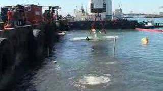 getlinkyoutube.com-Raising and refloating the wrecked Southern Harrier