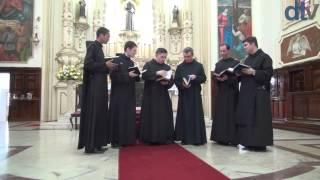 getlinkyoutube.com-Canto Gregoriano - Monges do Mosteiro de São Bento de São Paulo 21/12/2013