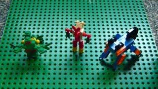 getlinkyoutube.com-Lego Pokemon + Instructions Part 8 - Sceptile, Blaziken, and Swampert