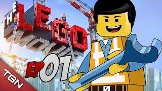 """getlinkyoutube.com-LEGO MOVIE THE VIDEOGAME: """"CONSTRUYENDO SONRISAS"""" #1 (Gameplay en Español)"""