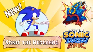 getlinkyoutube.com-Angry Birds Epic: Sonic Dash Event Start - Unlocked New Character Sonic The HedgeHog