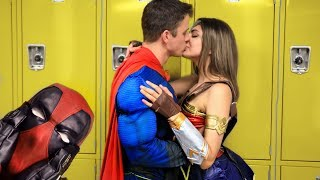 Super Hero Go Back To School