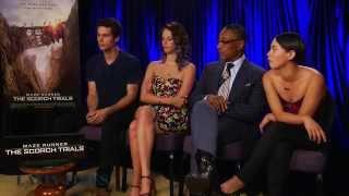 "getlinkyoutube.com-""Maze Runner: The Scorch Trials"": Cast talks sequel!"