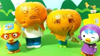 getlinkyoutube.com-뽀로로 친구들의 귤머리 소동 ★뽀로로 장난감 애니