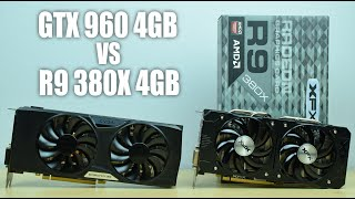 getlinkyoutube.com-R9 380X 4GB VS GTX 960 FTW 4GB - GTA V / Fallout 4 / The Witcher 3 / AC: Syndicate Benchmarks