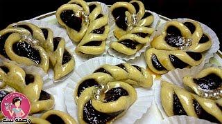 حلوة التمر المعسلة في الفرن شكل جديد و راقي / حلويات رمضان