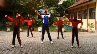 getlinkyoutube.com-Senam Gemu Fa Mi Re + Pinguin dance (Senam terbaru SMP Dharma Pancasila Medan)