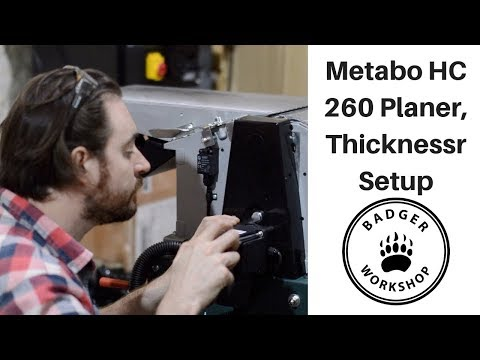 How to video: Setting up the Metabo HC 260 Youtube Thumbnail