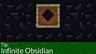 getlinkyoutube.com-How to Get Unlimited Obsidian in Minecraft