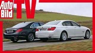 getlinkyoutube.com-BMW 750i vs. Mercedes S 500