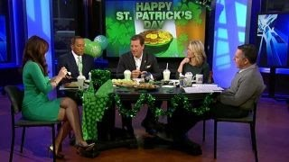 getlinkyoutube.com-'The Five' celebrates St. Patrick's Day