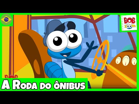 A Roda do Ônibus - Bob Zoom - Vídeo Musical Infantil