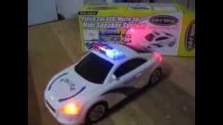 getlinkyoutube.com-Police Car USB MP3 Player Speaker