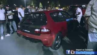getlinkyoutube.com-K20 Civic Vs Mustang