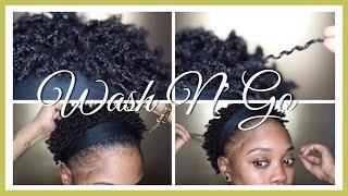 WASH N' GO - (TWA 4C HAIR)
