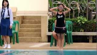 getlinkyoutube.com-แข่งว่ายน้ำ 25 เมตร หญิง