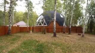 getlinkyoutube.com-Купольный дом d 11,5 (пос. Шигали г.Казань)