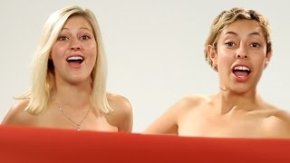 getlinkyoutube.com-Women BFFs See Each Other Naked For The First Time